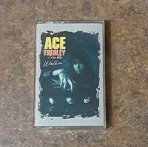 """Ace Frehley """"Trouble Walkin'"""" Cassette Tape"""